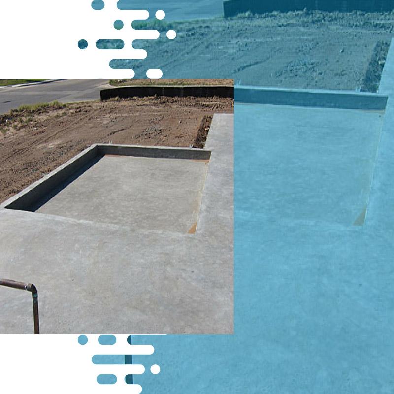 Sunken Portion Waterproofing